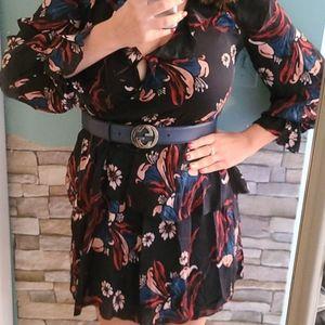 $398 Joie silk dress xs nwt